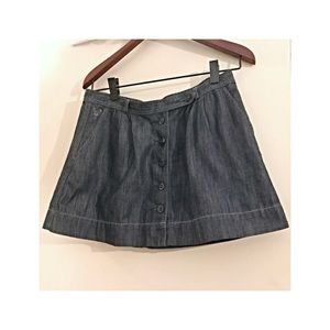 Cute American Eagle jean mini skirt